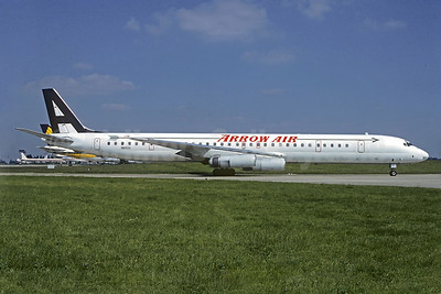 Arrow Air (2nd) McDonnell Douglas DC-8-63CF N6162A (msn 46061) ORY (Christian Volpati Collection). Image: 920177.