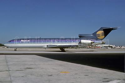 Arrow Air (2nd) Boeing 727-214 N409BN (msn 20162) (Pride Air colors) MIA (Bruce Drum). Image: 103210.