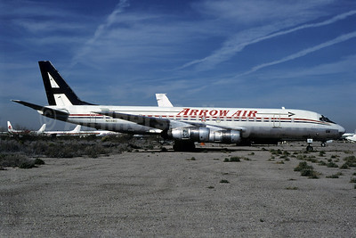 Arrow Air (2nd) McDonnell Douglas DC-8F-54 N108RD (msn 45663) (Airlift International colors) MZJ (Thomas Livesey). Image: 909562.