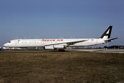Arrow Air (2nd) McDonnell Douglas DC-8-63CF N6162A (msn 46061) MIA (Bruce Drum). Image: 102569.