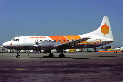 Aspen Airways Convair 580 N73126 (msn 53) DEN (Perry Hoppe). Image: 922369.