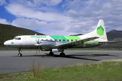 Aspen Airways Convair 580 N73104 (msn 4) ASE (Jacques Guillem). Image: 921432.