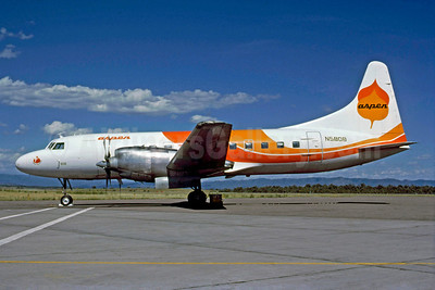 Aspen Airways Convair 580 N5808 (msn 348) DRO (Robert E. Garrard). Image: 910253.