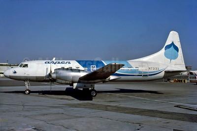 Aspen Airways Convair 580 N73133 (msn 70) LAX (DDM Photos). Image: 910235.