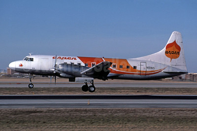 Aspen Airways Convair 580 N5815 (msn 78) DEN (Jay Selman). Image: 400193.
