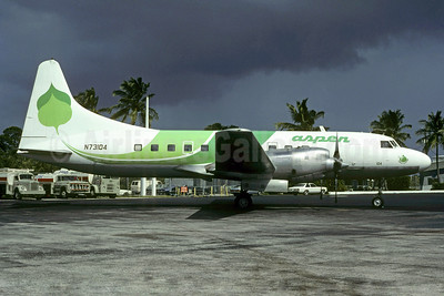 Aspen Airways Convair 580 N73104 (msn 4) FLL Nigel P. Chalcraft - Christian Volpati Collection). Image: 910255.