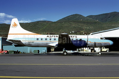 Aspen Airways Convair 440-38 N4816C (msn 118) ASE (Bruce Drum). Image: 102182.