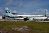 Atlanta Skylarks Boeing 720-025 N7229L (msn 18159) (Conair colors) MIA (Bruce Drum). Image: 103970.