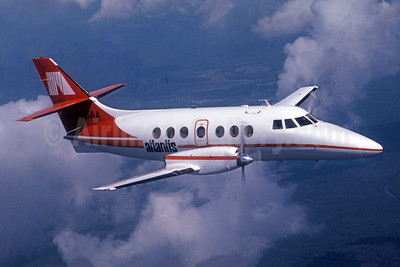 Atlantis Airlines (USA) BAe 3101 Jetstream 31 N155AA (msn 611) (Jay Selman). Image: 950201.