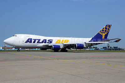 Atlas Air Boeing 747-47UF N408MC (msn 29261) AMS (Ton Jochems). Image: 913142.