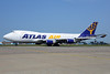 Atlas Air Boeing 747-47UF N408MC (msn 29261) AMS (Ton Jochems). Image: 913142.