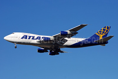 Atlas Air Boeing 747-2D7B (SF) N528MC (msn 22472) ATL (Bruce Drum). Image: 100722.
