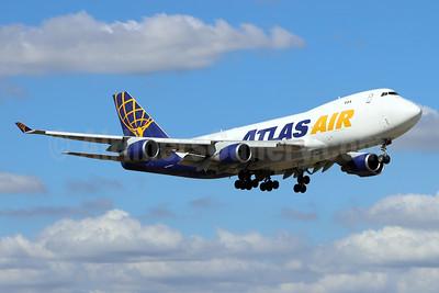 Atlas Air Boeing 747-45EF N485MC (msn 30607) MIA (Bruce Drum). Image: 105438.