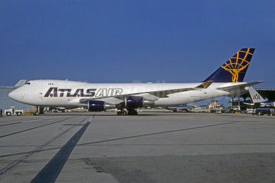 Atlas Air Boeing 747-47UF N494MC (msn 29255) MIA (Bruce Drum). Image: 906288.