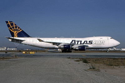 Atlas Air 747-400 in the original 1992 livery