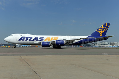 Atlas Air Boeing 747-87UF N854GT (msn 37566) AMS (Ton Jochems). Image: 942852.