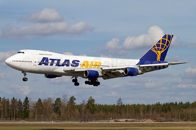 Atlas Air Boeing 747-2D7B (SF) N522MC (msn 21783) ARN (Stefan Sjogren). Image: 936634.