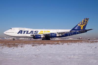 Atlas Air Boeing 747-230B (F) N512MC (msn 21220) JFK (Fred Freketic). Image: 950186.