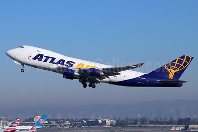 Atlas Air Boeing 747-45E (F) N487MC (msn 30609) LAX (Michael B. Ing). Image: 954898.