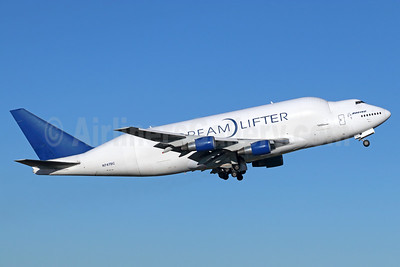 Boeing (Atlas Air) 747-4J6LCF DreamLifter N747BC (msn 25879) PAE (Michael B. Ing). Image: 938311.