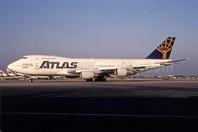Atlas Air - Dragonair Cargo Boeing 747-230B (F) N507MC (msn 21380) BKK (Michael B. Ing). Image: 944841.