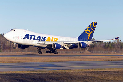 Atlas Air - QANTAS Airways Boeing 747-47UF N493MC (msn 29254) ARN (Stefan Sjogren). Image: 936633.