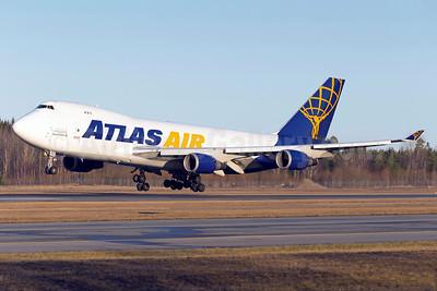 Atlas Air - QANTAS Airways Boeing 747-47UF N493MC (msn 29254) ARN (Stefan Sjogren). Image: 936633.