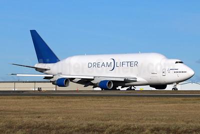 Boeing (Atlas Air) 747-4J6LCF DreamLifter N747BC (msn 25879) PAE (Michael B. Ing). Image: 937041.