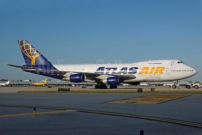 Atlas Air Boeing 747-2D7B (SF) N528MC (msn 22472) MIA (Bruce Drum). Image: 100133.