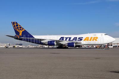Atlas Air Boeing 747-45EF N485MC (msn 30607) LAX (Michael B. Ing). Image: 951736.