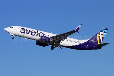 Avelo Airlines Boeing 737-86N SSWL N801XT (msn 35220) BUR (Michael B. Ing). Image: 953853.