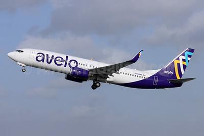 Avelo Airlines Boeing 737-8F2 WL N803XT (msn 34407) BUR (Michael B. Ing). Image: 953855.