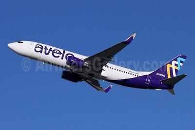 Avelo Airlines Boeing 737-8F2 WL N803XT (msn 34407) BUR (Michael B. Ing). Image: 953856.