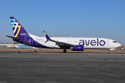 Avelo Airlines Boeing 737-86N SSWL N801XT (msn 35220) BUR (Michael B. Ing). Image: 954303.