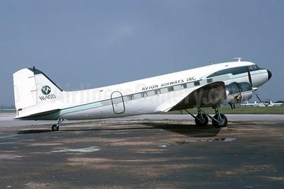 Avion Airways (USA) Douglas DC-3-209B N140D (msn 2120) SAT (Manuel J. Delgado - Bruce Drum Collection). Image: 952501.