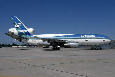 Air Florida (1st) McDonnell Douglas DC-10-30CF N103TV (msn 46802) JFK (Fred Freketic). Image: 943821.