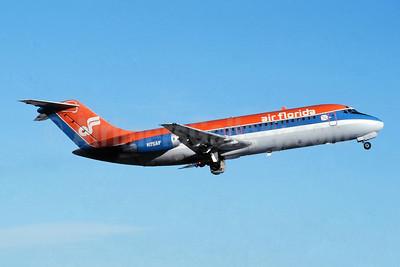 Air Florida (1st) McDonnell Douglas DC-9-15F N50AF (msn 47010) MIA (Jay Selman). Image: 403942.