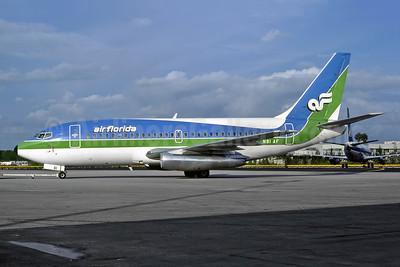 Air Florida (1st) Boeing 737-2T4 N81AF (msn 22697) MIA (Bruce Drum). Image: 105099.