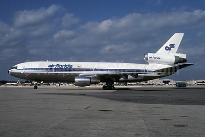 Air Florida (1st) McDonnell Douglas DC-10-30CF N1035F (msn 46992) (Icelandair colors) MIA (Bruce Drum). Image: 102051.