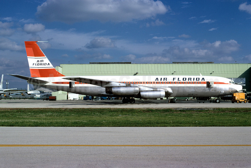 Air Florida's first aircraft, used for intra-Florida routes!
