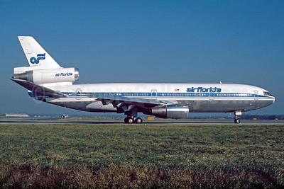Air Florida (1st) McDonnell Douglas DC-10-30CF N1035F (msn 46992) (Icelandair colors)  BRU (Christian Volpati Collection). Image: 926998.