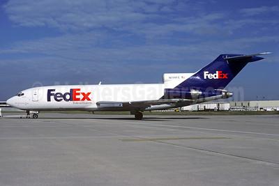 FedEx-Federal Express Boeing 727-24C N114FE (msn 19527) CDG (Christian Volpati). Image: 933362.