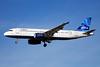 JetBlue Airways Airbus A320-232 N606JB (msn 2384) (Mosaic) LAS (Bruce Drum). Image: 101747.