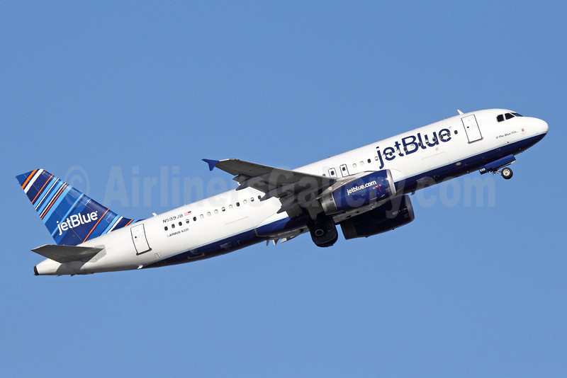 Airline Color Scheme - Introduced 2010 (Barcode)
