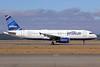 JetBlue Airways Airbus A320-232 N599JB (msn 2336) (Barcode) SEA (Michael B. Ing). Image: 922344.