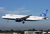 JetBlue Airways Airbus A320-232 N606JB (msn 2384) (Mosaic) LGB (Michael B. Ing). Image: 908223.