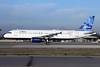 JetBlue Airways Airbus A320-232 N607JB (msn 2386) (Mosaic) LGB (Michael B. Ing). Image: 908071.