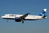 JetBlue Airways Airbus A320-232 N568JB (msn 2063) (Blueberries) LGB (Michael B. Ing). Image: 904799.