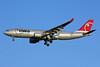 Northwest Airlines-NWA Airbus A330-223 N852NW (msn 614) NRT (Michael B. Ing). Image: 901637.