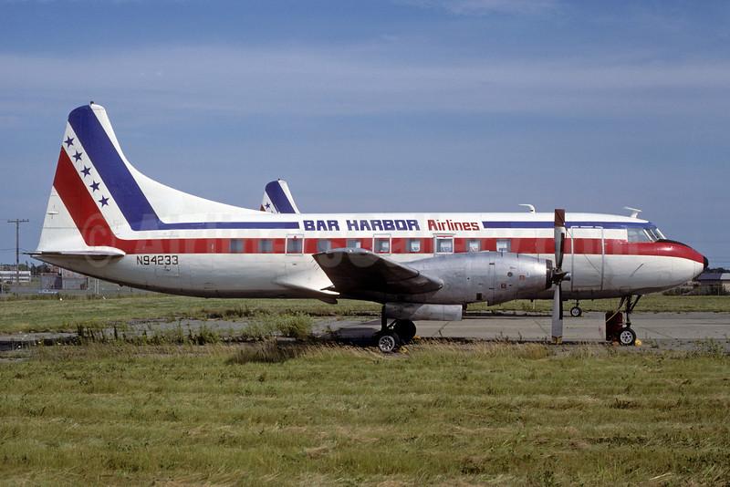 Bar Harbor Airlines Convair 600 N94233 (msn 63) BGR (Keith Armes). Image: 913598.